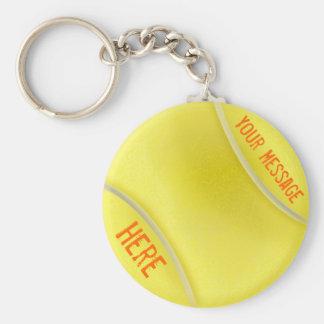 Porte-clés Cadeaux de tennis personnalisés par porte - clé