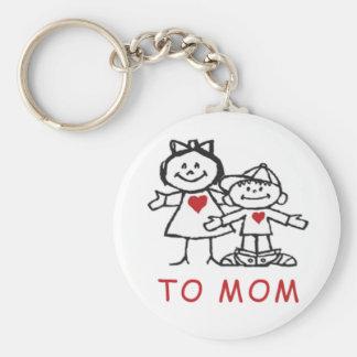 Porte-clés cadeaux du jour de mère