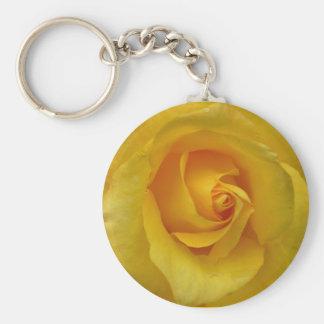 Porte-clés Cadeaux jaunes de fleur de Cheeful de porte - clés