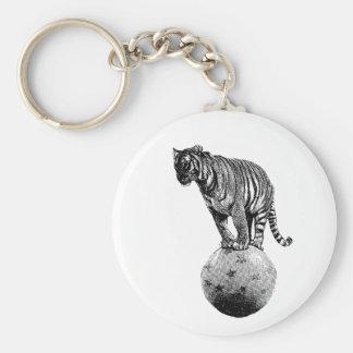 Porte-clés Cadeaux vintages de tigre de cirque
