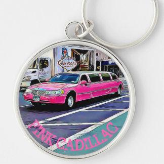Porte-clés Cadillac rose dans le porte - clé de NYC