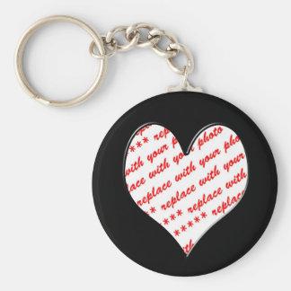 Porte-clés Cadre de photo de Valentine