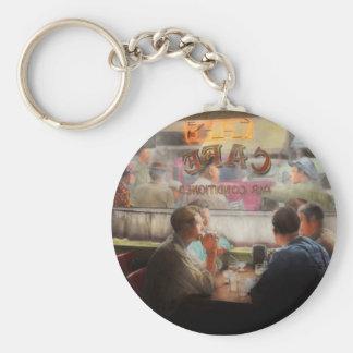 Porte-clés Café - boissons de froid avec les amis 1941