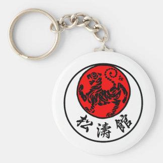 Porte-clés Calligraphie japonaise de Shotokan Soleil Levant -