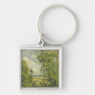 Porte-clés Camille Pissarro | un repos dans le pré