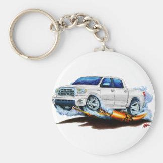 Porte-clés Camion de blanc de Crewmax de toundra de Toyota