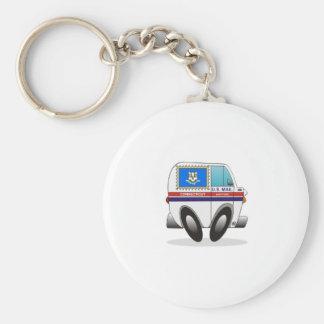Porte-clés Camion de courrier le CONNECTICUT