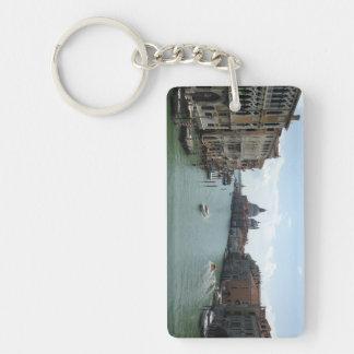 Porte-clés Canal grand, porte - clé de rectangle de Venise