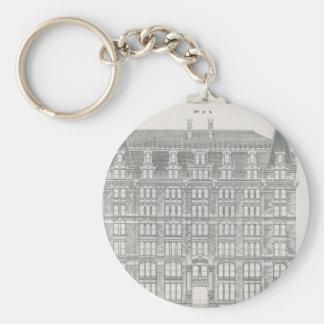Porte-clés Canal vintage Cie. d'architecture, du Delaware et
