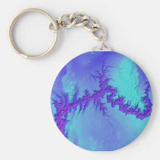 Porte-clés Canyon grand de style lumineux de nébuleuse de