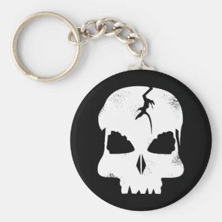 Porte-clés Capitaine rugueux Jacks Keychain de crâne