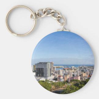 Porte-clés Capitale d'horizon de Port-Louis des Îles Maurice