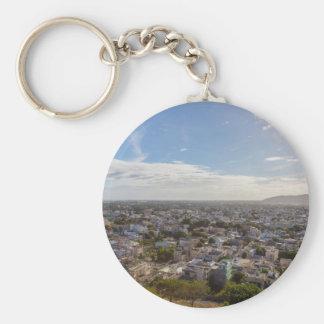 Porte-clés Capitale panoramique de Port-Louis des Îles