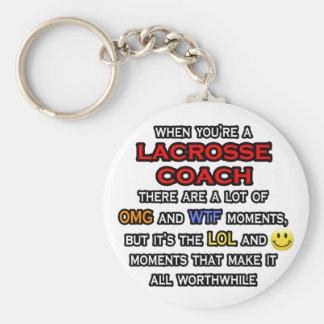 Porte-clés Car drôle… OMG WTF LOL de lacrosse