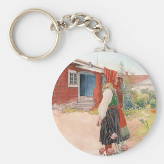 Porte-clés Carl Larsson - la maison de Falun
