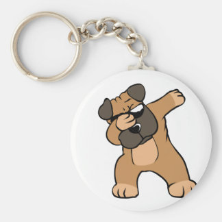 Porte-clés Carlin tamponnant drôle