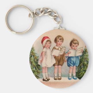 Porte-clés Caroling badine le porte - clé de Joyeux Noël