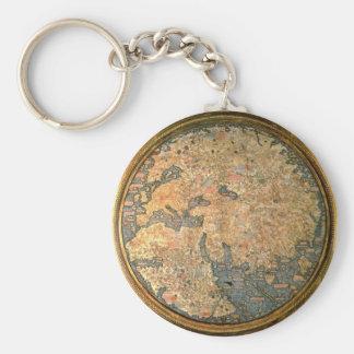 Porte-clés Carte du monde d'ATF Mauro