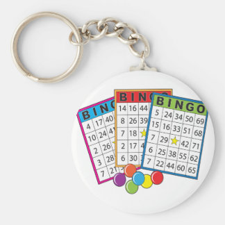 Porte-clés Cartes de bingo-test