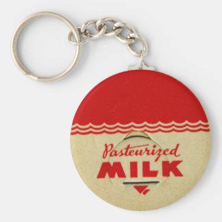 Porte-clés Casquette pasteurisé de lait