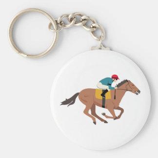 Porte-clés Cavalier de cheval de Kentucky Derby