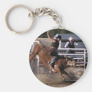 Porte-clés Cavalier de Taureau de rodéo