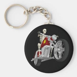 Porte-clés Cavalier squelettique de cycliste/vélo : modèle 3D