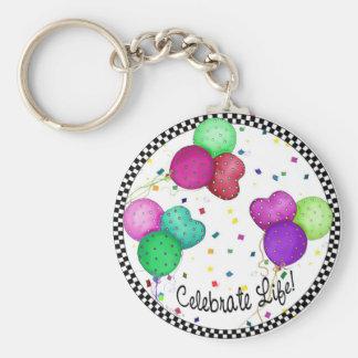 Porte-clés Célébrez le porte - clé de la vie