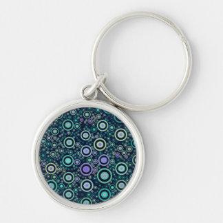 Porte-clés Cercles abstraits