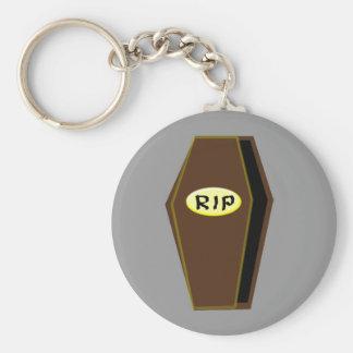 Porte-clés Cercueil de Halloween de DÉCHIRURE de porte - clé