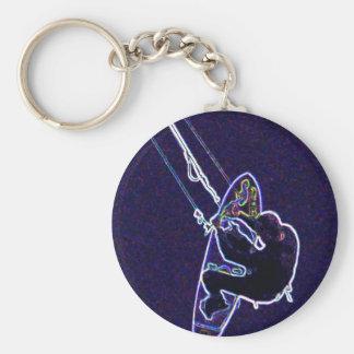 Porte-clés Cerf-volant surfer2