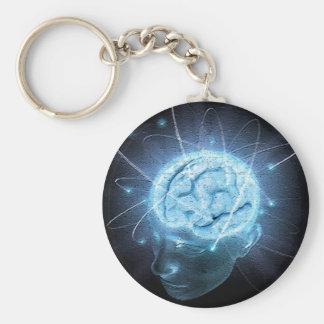 Porte-clés Cerveau atomique