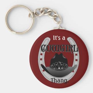 Porte-clés C'est un porte - clé de la cow-girl THANG