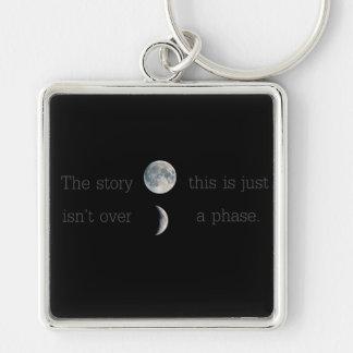 Porte-clés Cette histoire n'est pas terminée ; c'est juste
