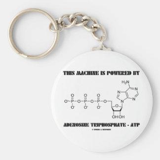 Porte-clés Cette machine est actionnée par l'adénosine