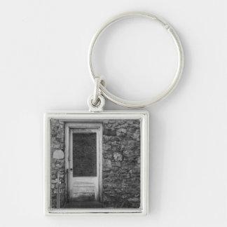 Porte-clés Cette vieille gamme de gris de mur de roche
