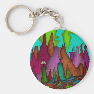Porte-clés Chaîne d'Étiquette-Clé de sac d'art de golf de