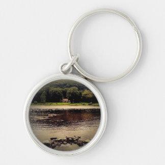 Porte-clés Chambre de façade d'une rivière