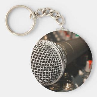 Porte-clés Chant de câble de microphone de câble de mélangeur