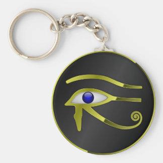 Porte-clés Chant religieux égyptien d'or de l'Egypte de Ra