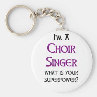 Porte-clés chanteur de choeur