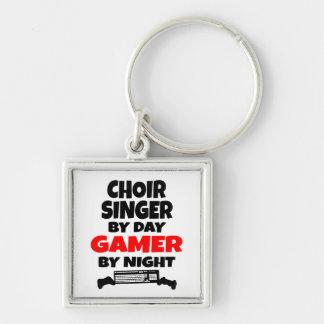Porte-clés Chanteur de choeur par le Gamer de jour par nuit