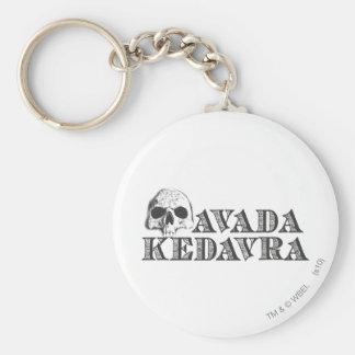 Porte-clés Charme   Avada Kedavra de Harry Potter