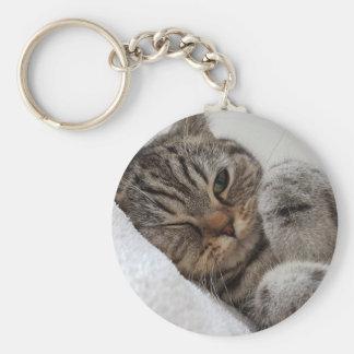 Porte-clés chat