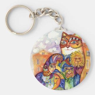 Porte-clés Chat de Venise