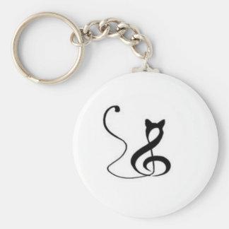 Porte-clés Chat d'harmonie