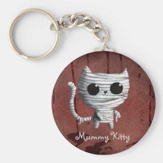 Porte-clés Chat mignon de maman de Halloween