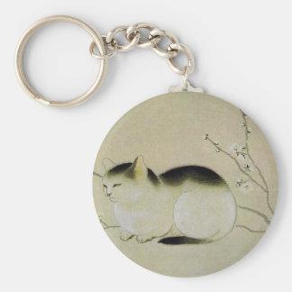 Porte-clés Chat par Hishida Shunso