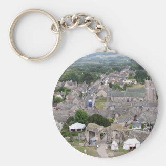 Porte-clés Château de Corfe, Dorset, Angleterre