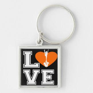 Porte-clés Cheerleading d'amour